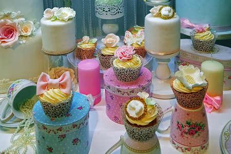 eventos especiales: Arreglo con dulces para eventos especiales. Foto de archivo