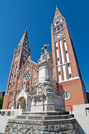 szeged: Votive Church of Our Lady of Hungary in Szeged. Construction began in 1913 and it was completed at 1930.