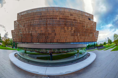 WASHINGTON DC, USA - AUGUST 31, 2018: New National Museum of African American History and Culture.