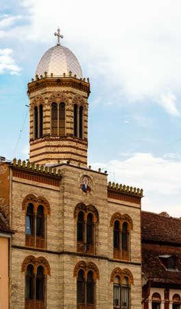 brasov: Church in Brasov, Transylvania, Europe Stock Photo