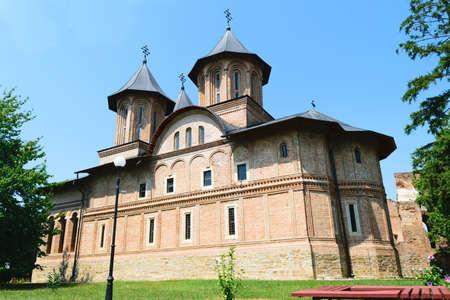 viernes santo: The Great Princely Church in Targoviste, Dambovita, Romania