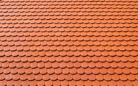 real ceramic shingle roof tile background pattern Reklamní fotografie