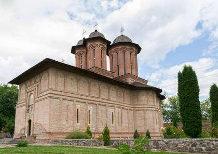 Brebu, Prahova, Romania - August 04, 2019: The Brebu Monastery situated in Brebu, Prahova. Redakční