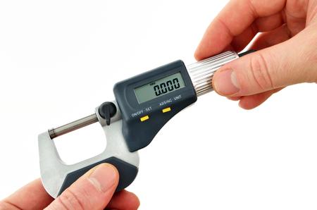 micrometer: Digital micrometer