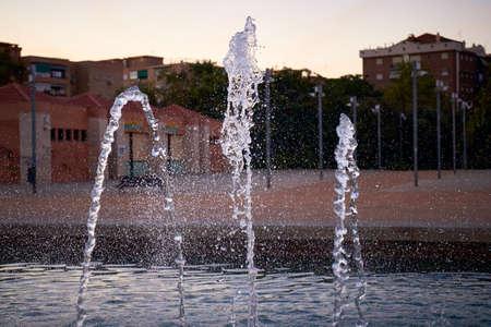 Water fountain in Granada, Spain Stockfoto