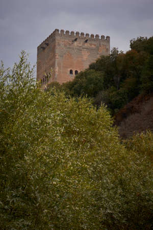 Visit to the surroundings of the Alhambra, Grenade, Spain Imagens
