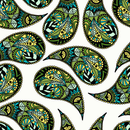cucumbers: Turkish cucumbers. Seamless ornament for fabrics, wallpaper, background, web backdrop. Ethnic motifs. illustration.