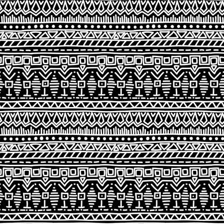 ethno: Tribal seamless pattern. abstract background. illustration. Illustration