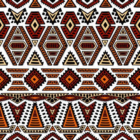 Marco Cuadrado Motivos étnicos Y Tribales Colores De Neón Rosa