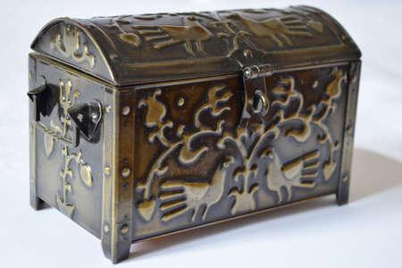 coffer: metal coffer