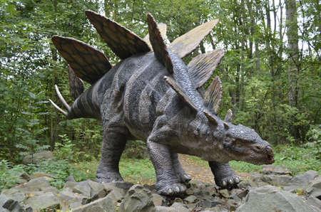 stegosaurus: estegosaurio