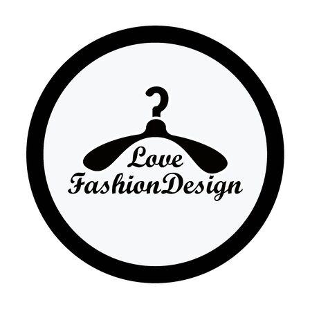 fashion design: fashion design logo icon