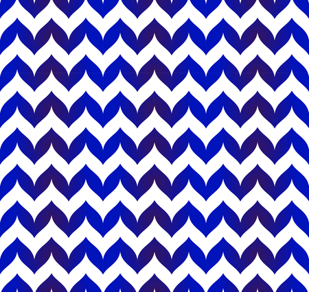 Chevron pattern blue and white seamless for design, porcelain, chinaware, ceramic, tile, ceiling, texture, wall, paper, floor and fabric, vector illustration, zigzag background