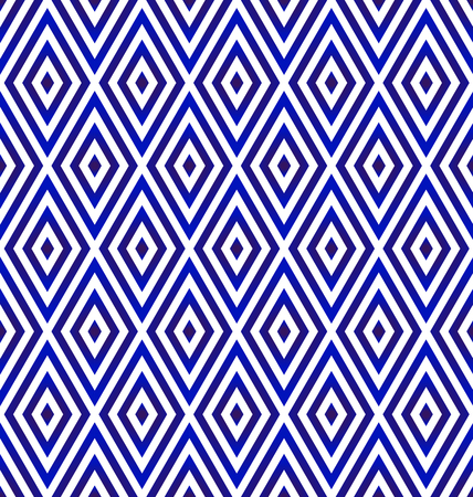 ceramic rhombus pattern blue and white, diamond backdrop of squares in diagonal arrangement,Simple geometric background, abstract porcelain modern design vector illustration