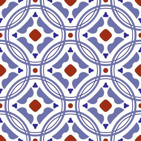 motif de carreaux de céramique, design carrelé vintage avec patchwork coloré de style turc, ornement floral décoratif du Portugal, fond marocain, vaisselle espagnole, talavera mexicaine sans couture, impression de poterie