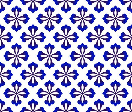 ceramic pattern floral China style, modern shape background for design, ceramic, porcelain,indigo, chinaware, tile, ceiling, texture, wall, floor, paper and fabric, vector illustration