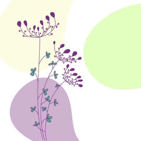 vintagern: floral greeting