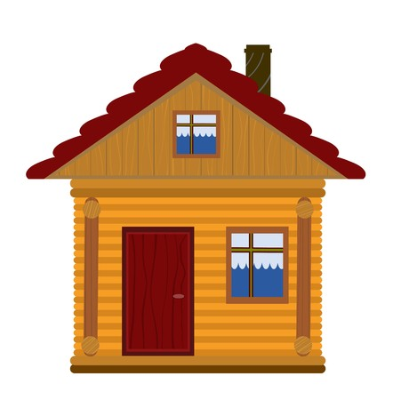 woodenrn: wooden house