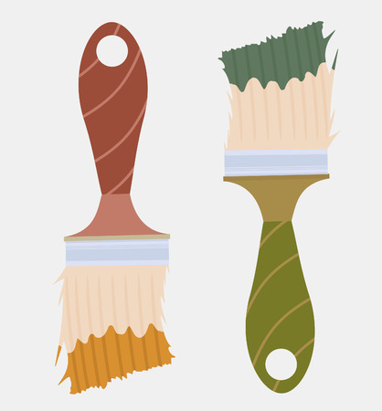 brushes Stock Vector - 8009583