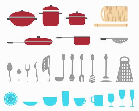 ceiling design: utensilios de cocina