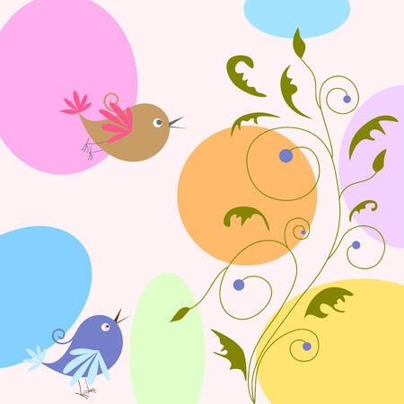 birds Stock Vector - 8248890