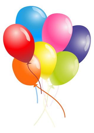 balloons 일러스트