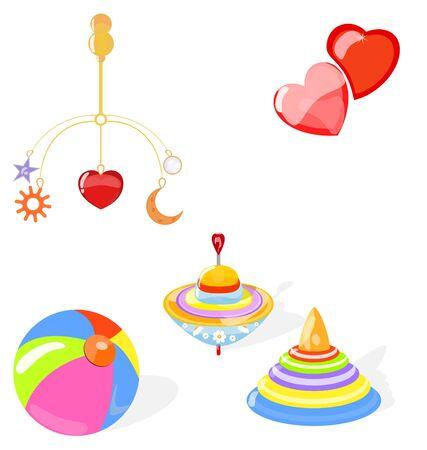 teteros: conjunto de los juguetes