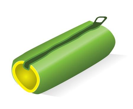 pencil case: pencil case Illustration