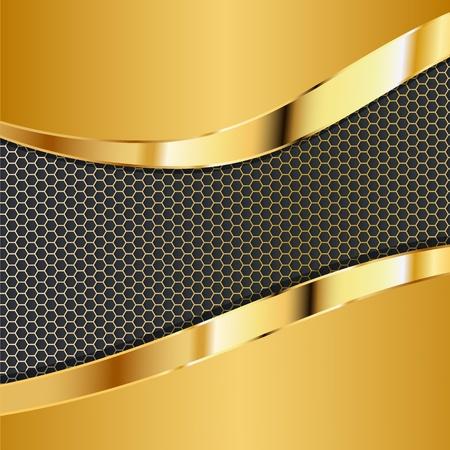 fibra de carbono: fondo met�lico