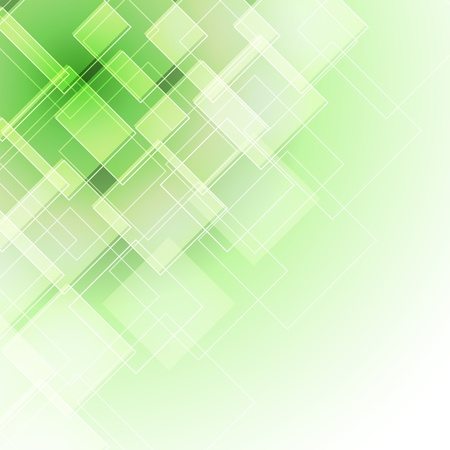abstract green background with rhombus Stock Vector - 15554191