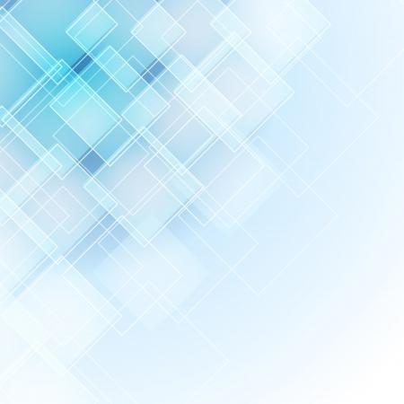 초록: 마름모와 추상 파란색 배경 일러스트