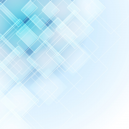 abstract blue background with rhombus Vector