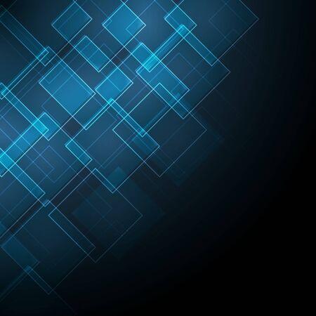 abstrait bleu foncé avec losange Vecteurs
