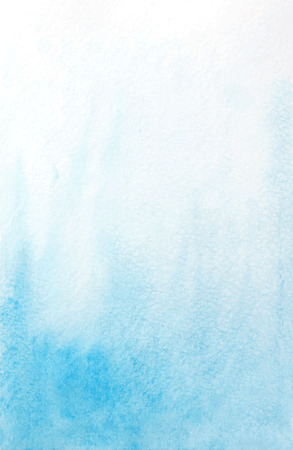abstract watercolor light blue background