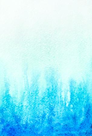 abstract watercolor aqua blue background