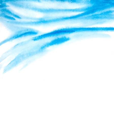 breeze: abstract background with watercolor waves