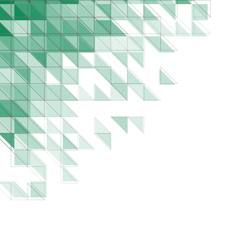 corner design: abstract geometric background with triangles