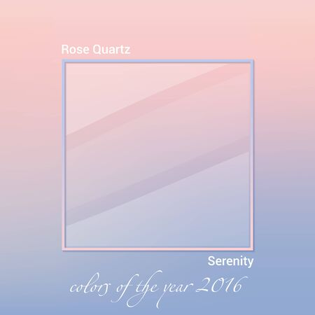trend: color of the year 2016. design trend colors. vector Illustration