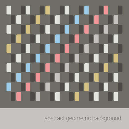 modern design: abstract geometric pattern background. vector illustration Illustration