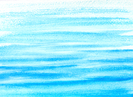 abstract background watercolor hand drawn water ripples Stock Photo