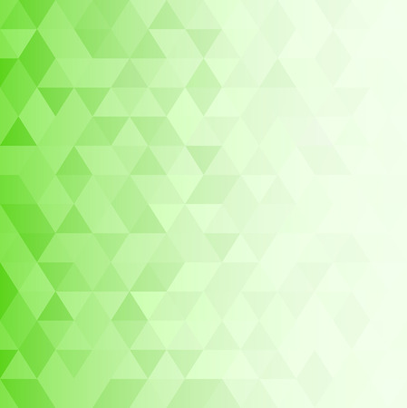 triangular geometric background. green spring abstract background. vector
