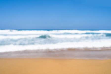 Christmas sea holiday. Woman in santa hat relaxing on paradise beach island getaway. New year Stock fotó