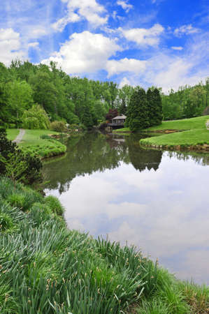 Brookside Gardens nature park in Maryland photo