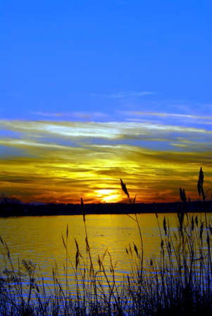 Sunset on the Chesapeake Bay in Maryland