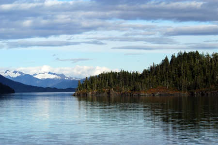 william: Mountains, glaciers, forests in Prince William Sound, Alaska