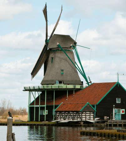 Dutch Windmill Фото со стока