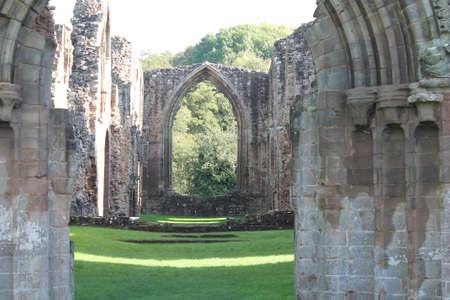the abbey: Cistercian Abbey ruins