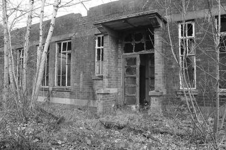 Verlaten gebouw Stockfoto