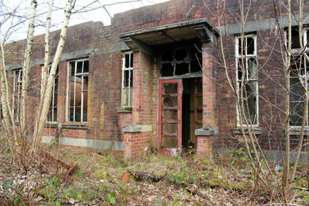 abandoned: Abandoned building