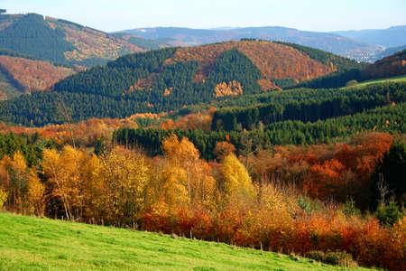 the Sauerland in autumn